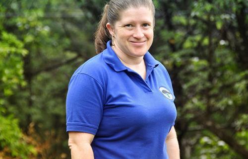 Library Service Coordinator, Marlene Leiton Campbell
