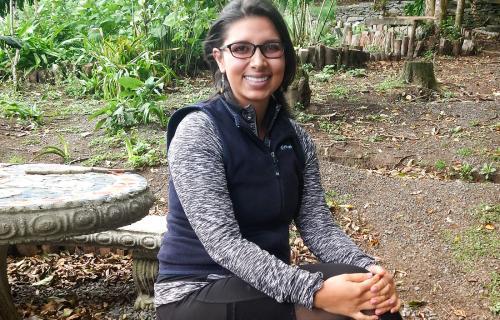 Academic Assistant, Dinia Santamaría