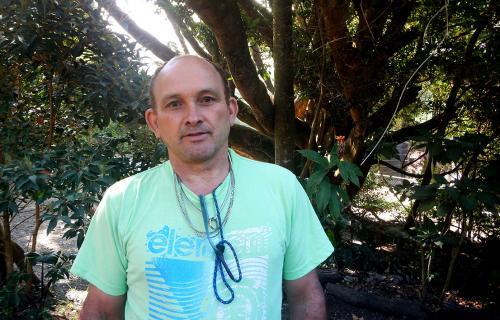 Plant Nursery Manager, Lorenzo Vargas